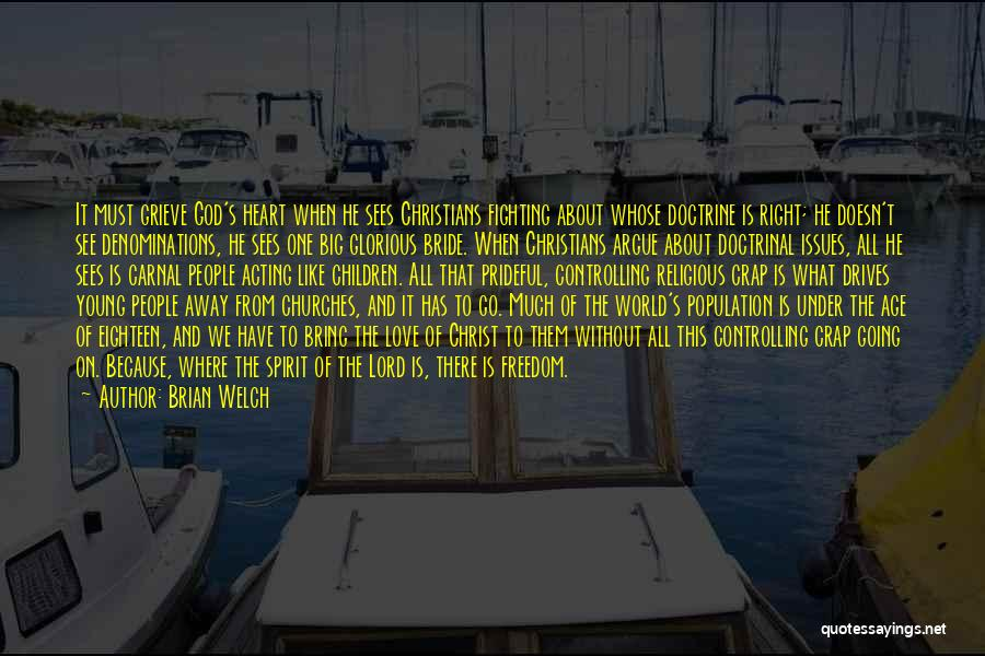 God Sees My Heart Quotes By Brian Welch