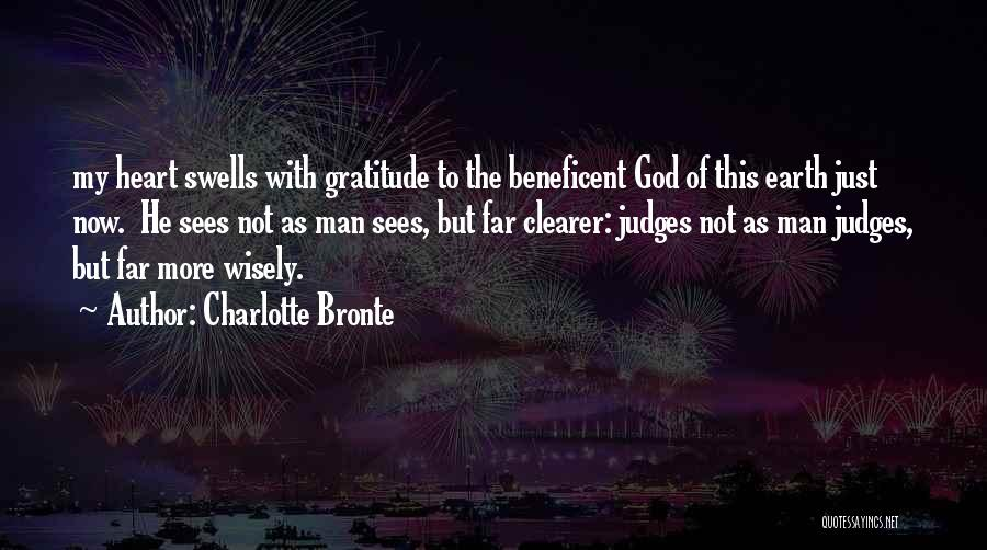 God Sees My Heart Quotes By Charlotte Bronte