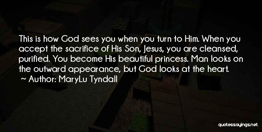 God Sees My Heart Quotes By MaryLu Tyndall