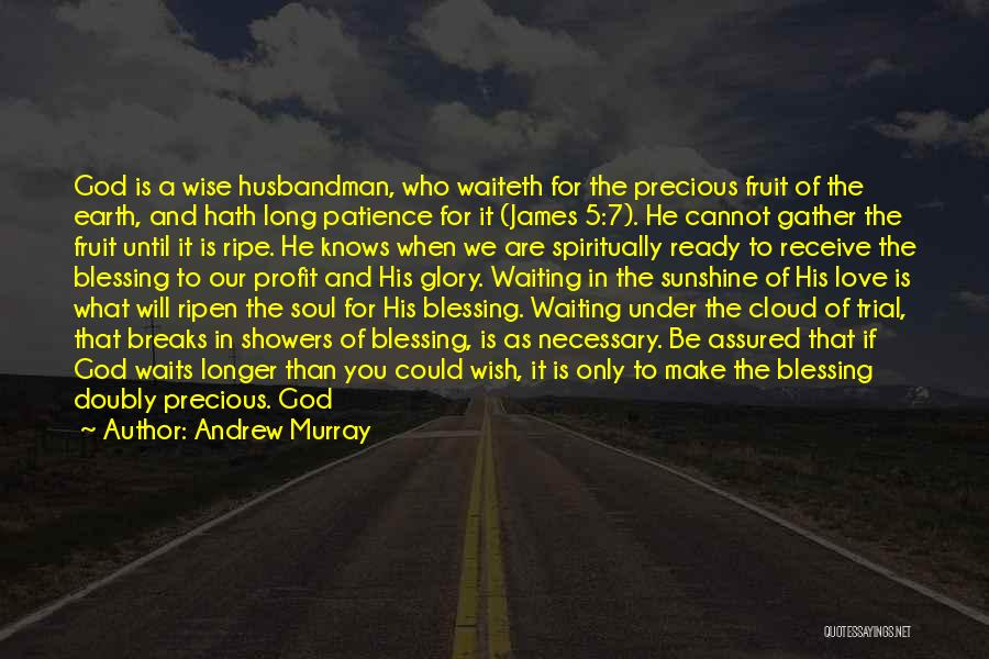 God Sent His Son Quotes By Andrew Murray