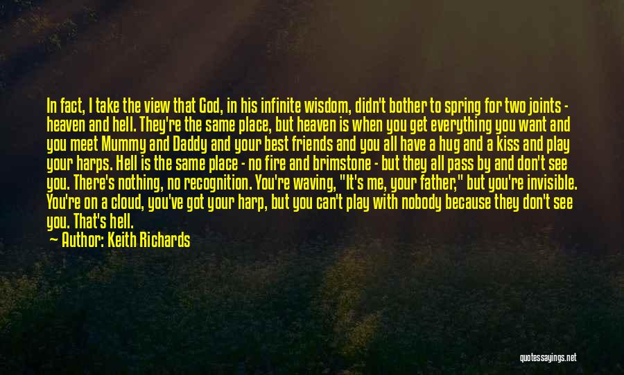 God Take Me With You Quotes By Keith Richards