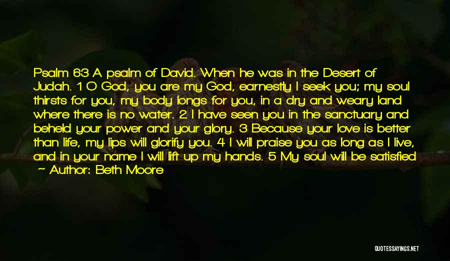 God Watches Over You Quotes By Beth Moore