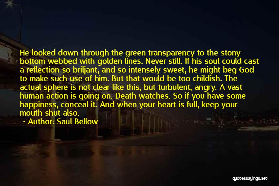 God Watches Over You Quotes By Saul Bellow