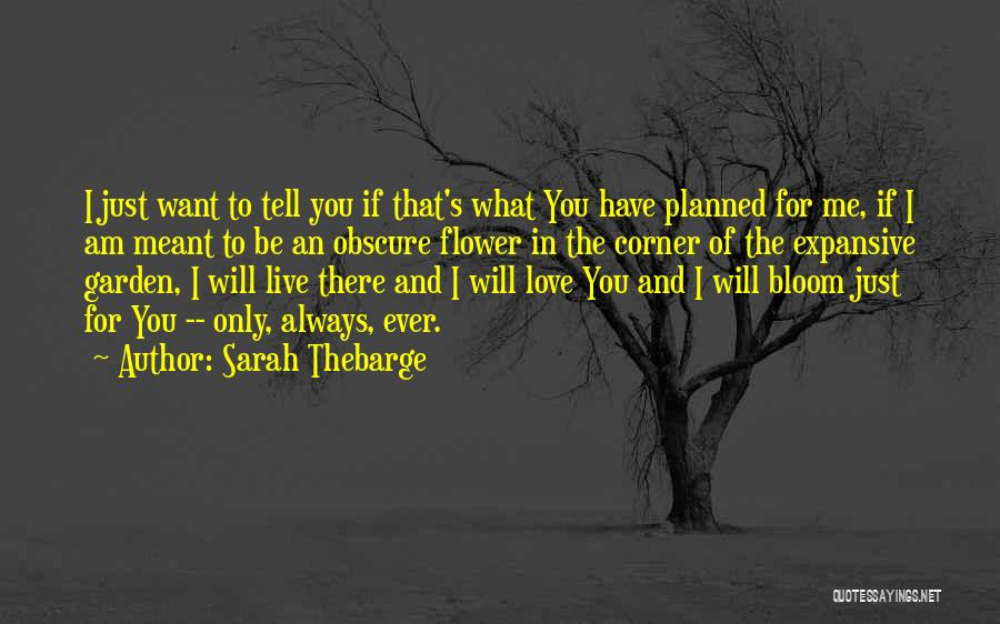 God Will Always Be There For Me Quotes By Sarah Thebarge