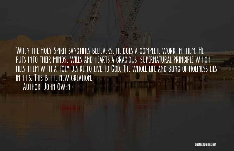 God Wills Quotes By John Owen