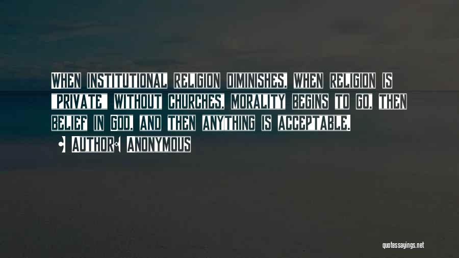 God Without Religion Quotes By Anonymous