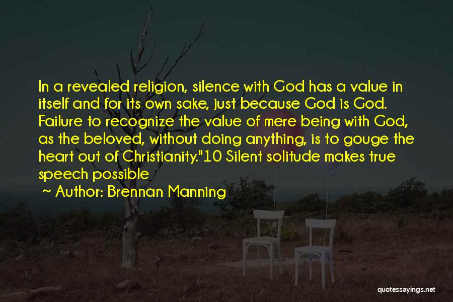 God Without Religion Quotes By Brennan Manning