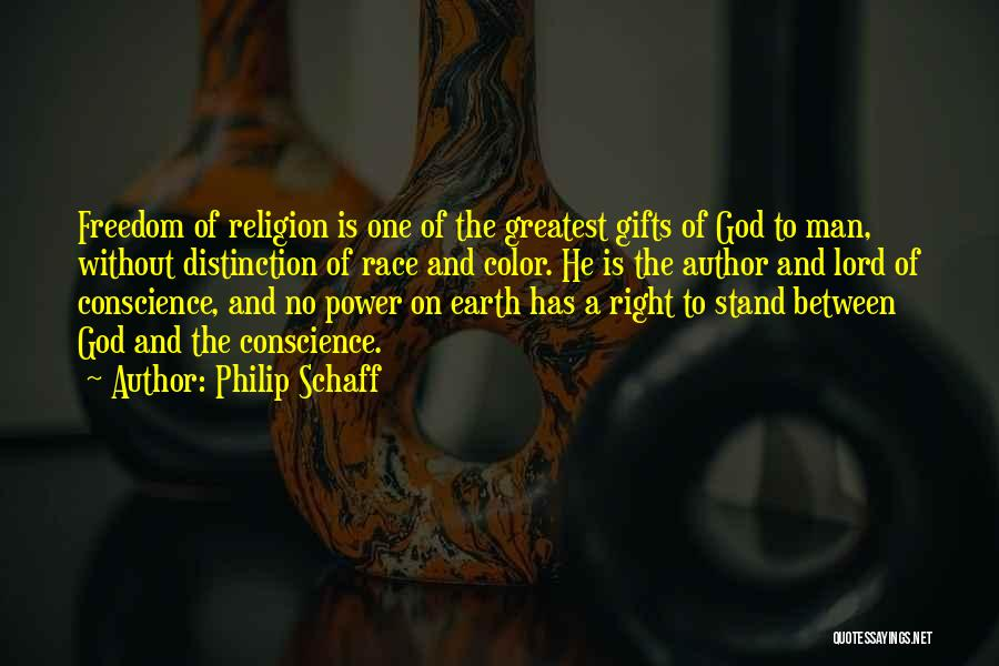 God Without Religion Quotes By Philip Schaff