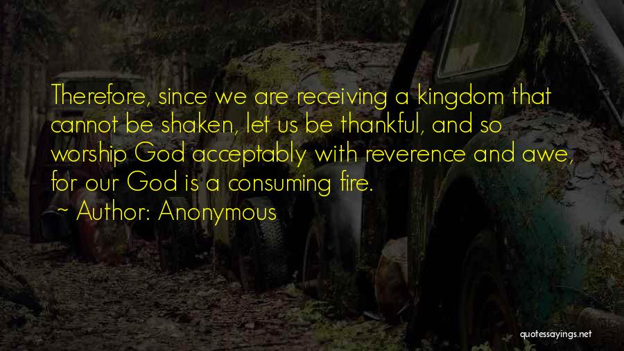 God Worship Quotes By Anonymous