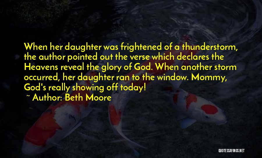 God Worship Quotes By Beth Moore