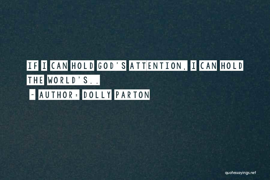God Worship Quotes By Dolly Parton
