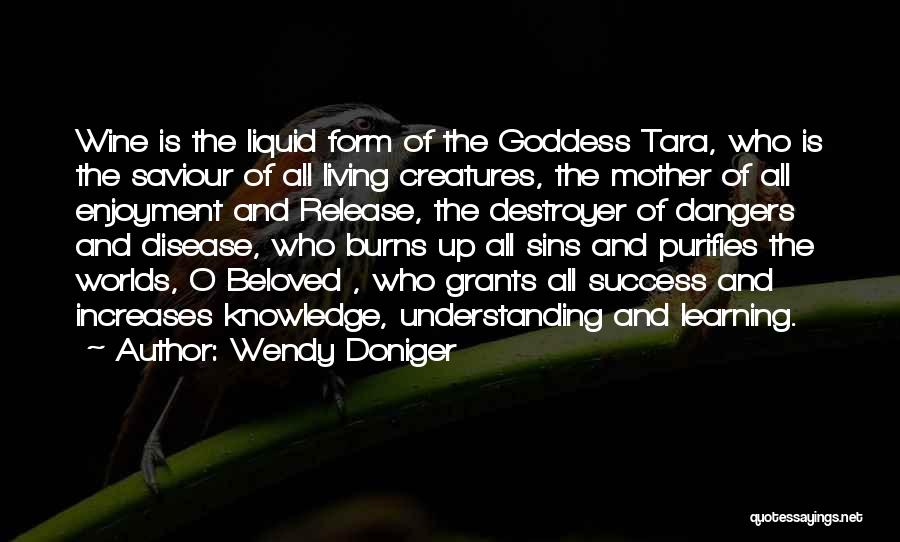 Goddess Tara Quotes By Wendy Doniger