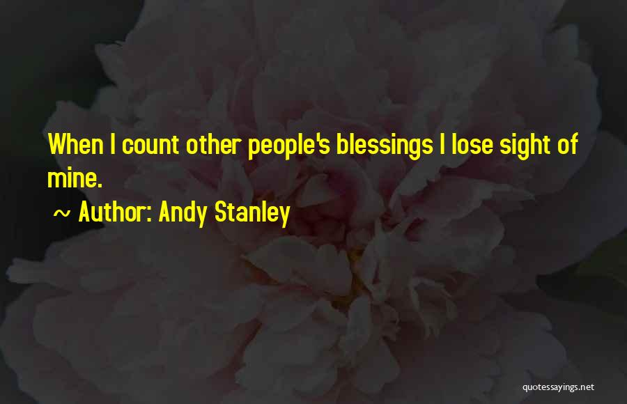 God's Blessings Quotes By Andy Stanley