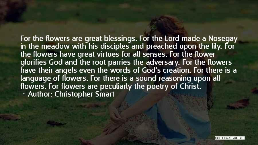 God's Blessings Quotes By Christopher Smart