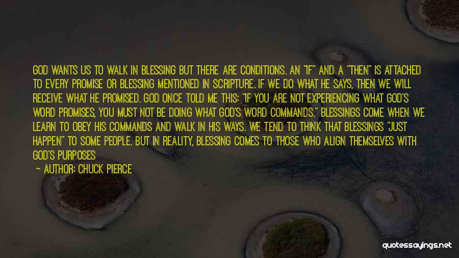 God's Blessings Quotes By Chuck Pierce