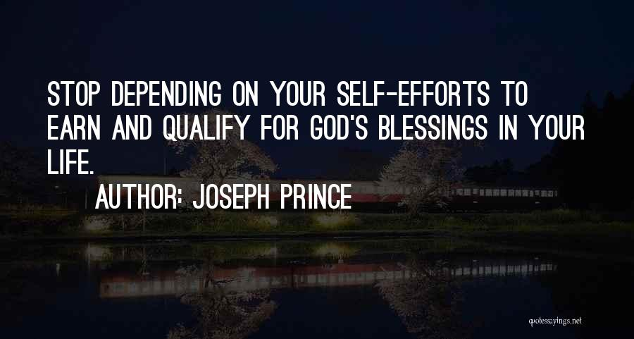God's Blessings Quotes By Joseph Prince