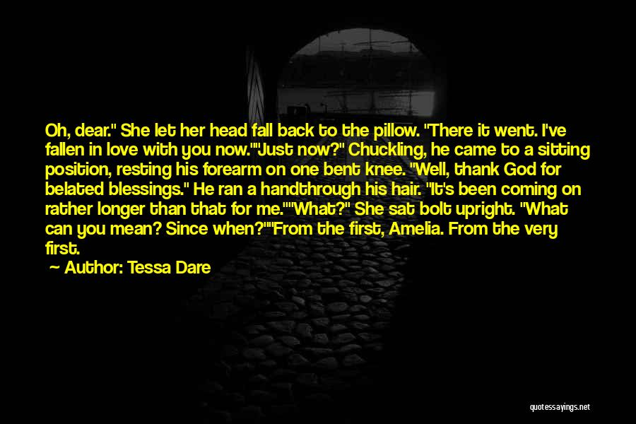 God's Blessings Quotes By Tessa Dare