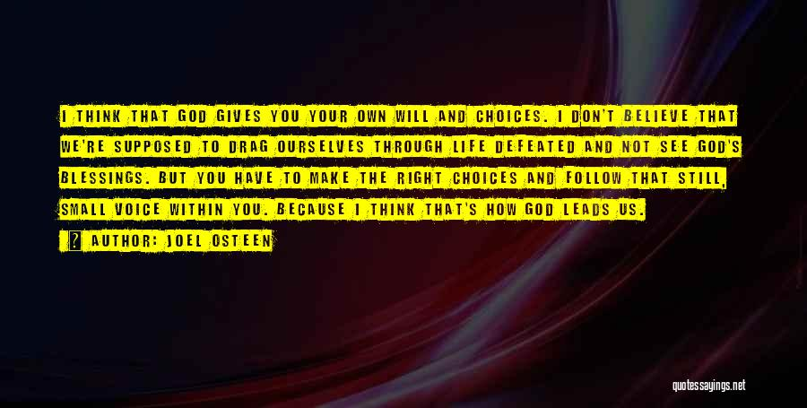 God's Blessings To You Quotes By Joel Osteen