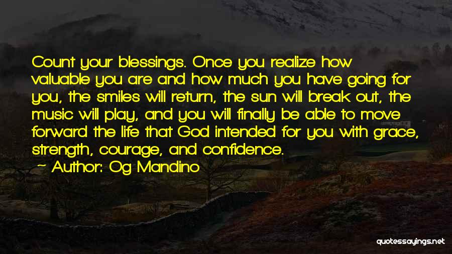 God's Blessings To You Quotes By Og Mandino