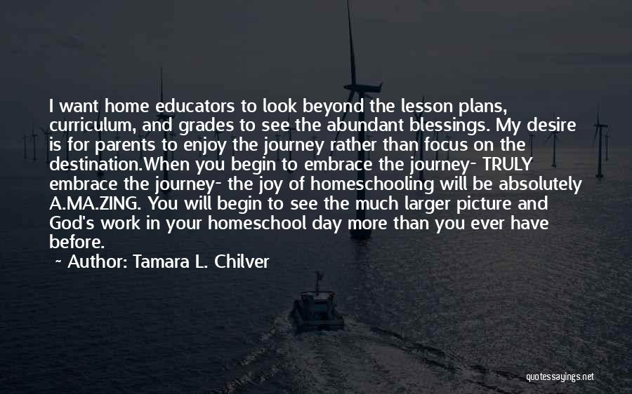 God's Blessings To You Quotes By Tamara L. Chilver