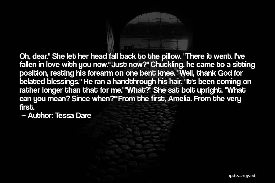 God's Blessings To You Quotes By Tessa Dare