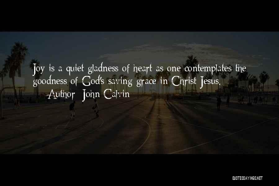 God's Goodness Quotes By John Calvin