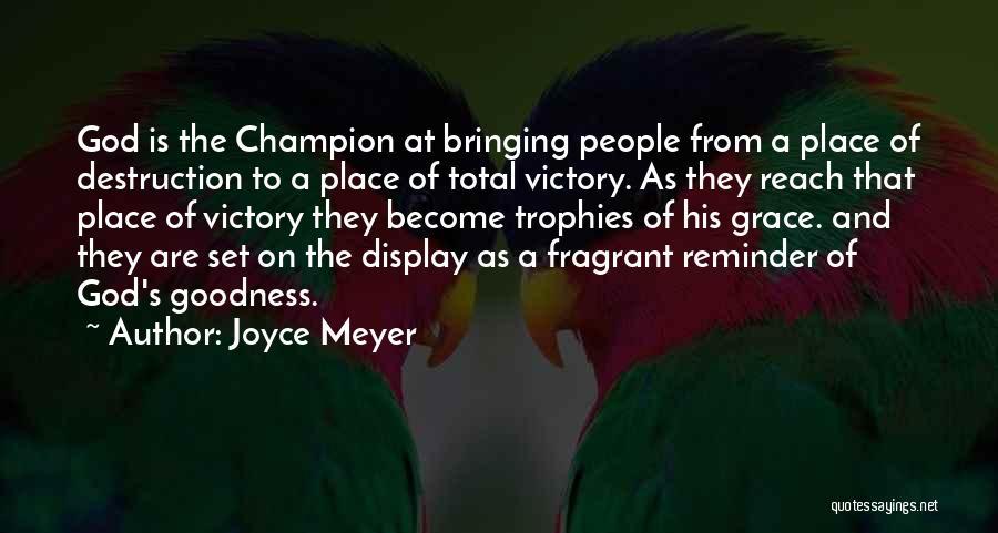 God's Goodness Quotes By Joyce Meyer