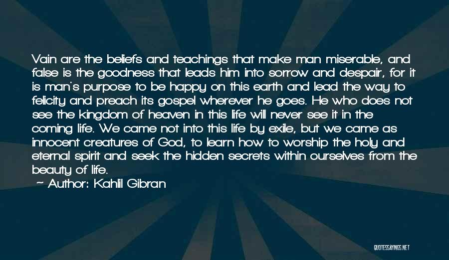 God's Goodness Quotes By Kahlil Gibran