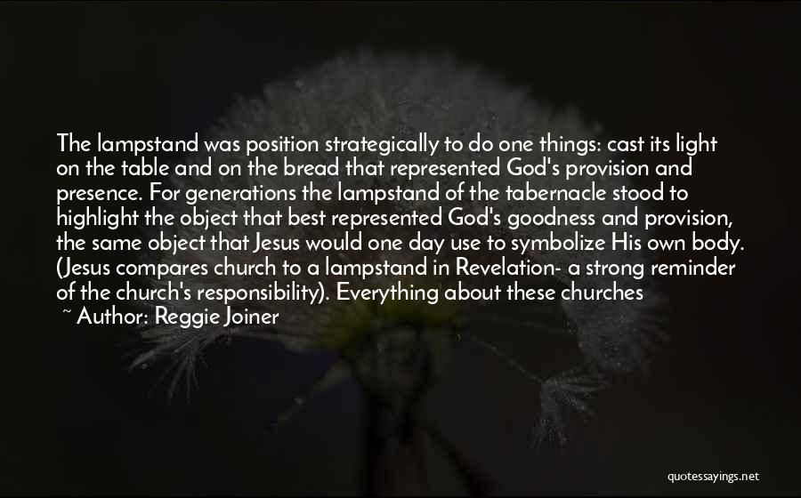 God's Goodness Quotes By Reggie Joiner