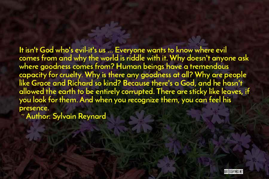 God's Goodness Quotes By Sylvain Reynard