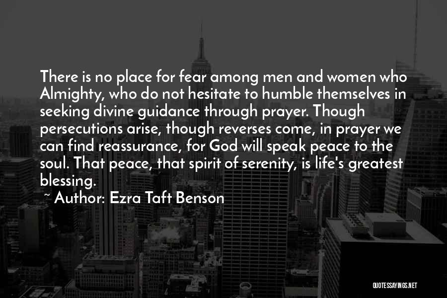 God's Greatest Blessing Quotes By Ezra Taft Benson