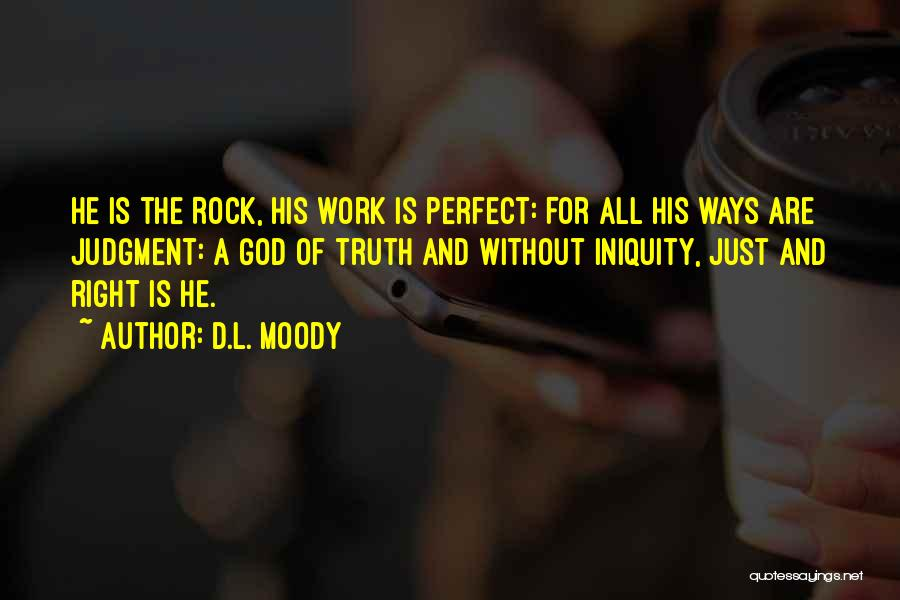 God's Ways Are Perfect Quotes By D.L. Moody