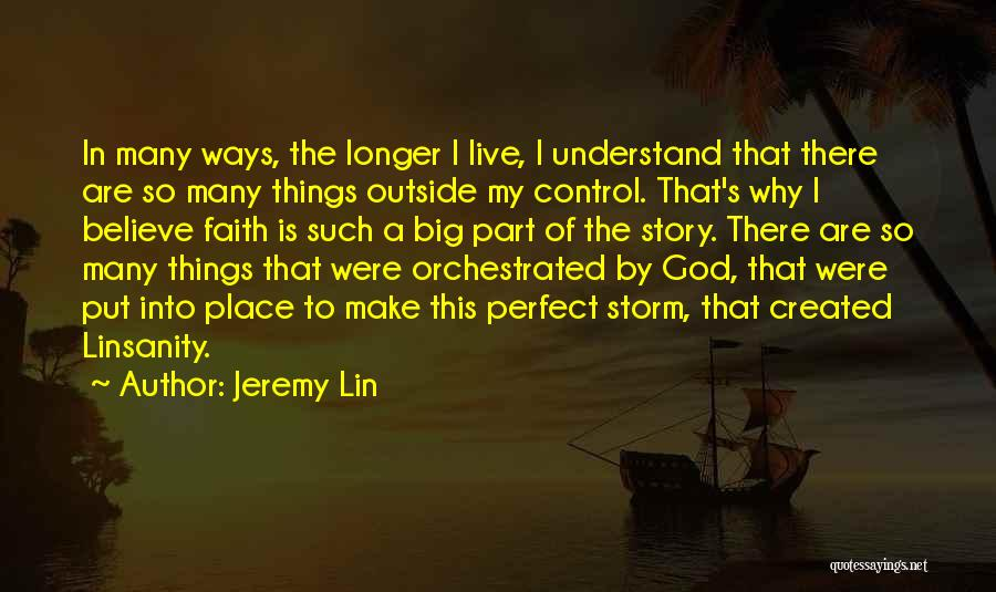 God's Ways Are Perfect Quotes By Jeremy Lin