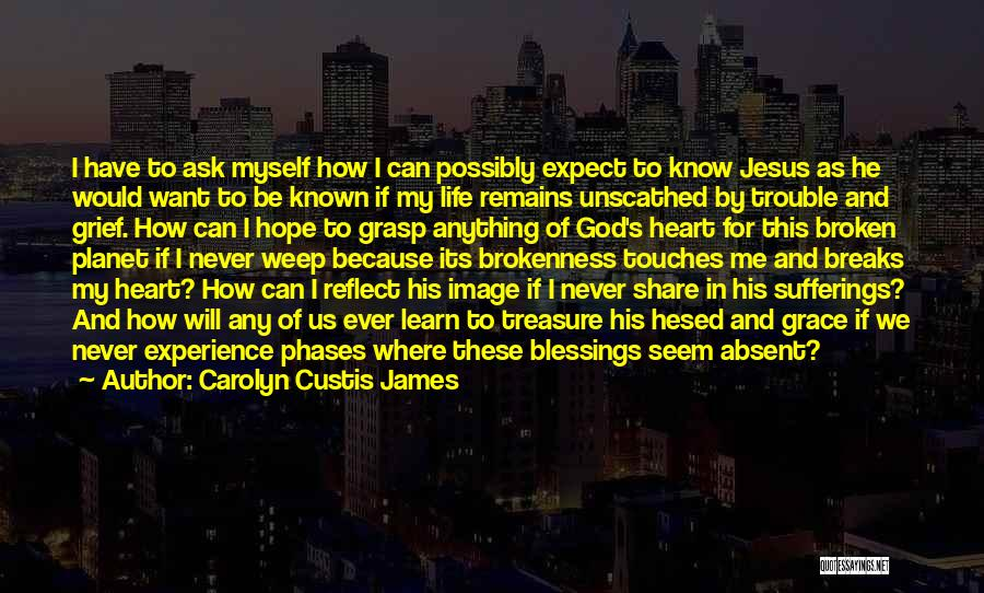 God's Will For My Life Quotes By Carolyn Custis James