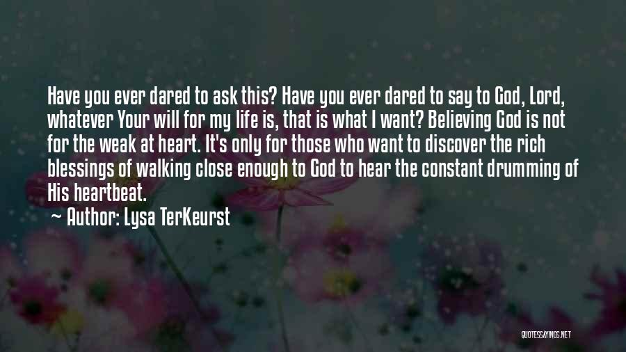 God's Will For My Life Quotes By Lysa TerKeurst