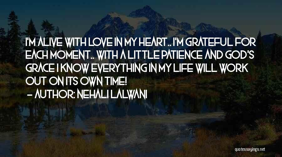 God's Will For My Life Quotes By Nehali Lalwani