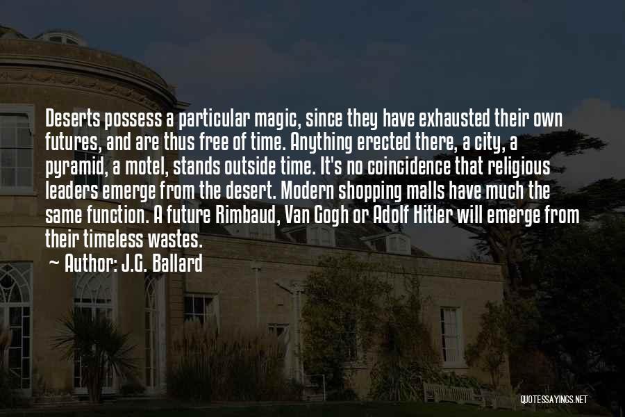 Gogh Quotes By J.G. Ballard
