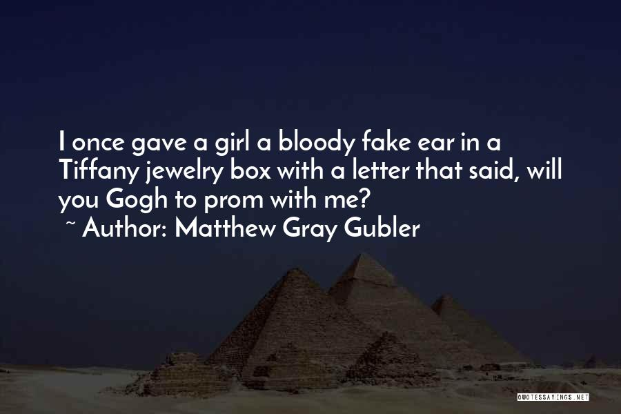 Gogh Quotes By Matthew Gray Gubler