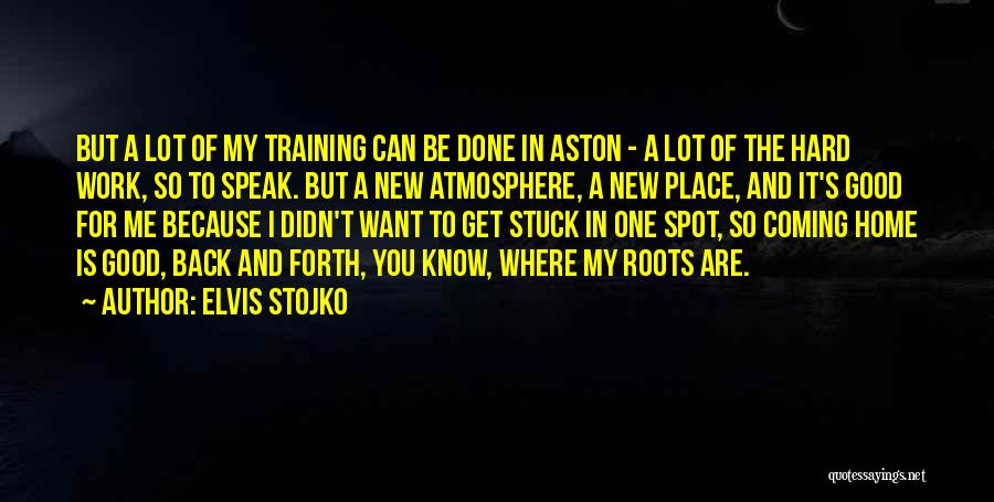 Going Back Home Soon Quotes By Elvis Stojko