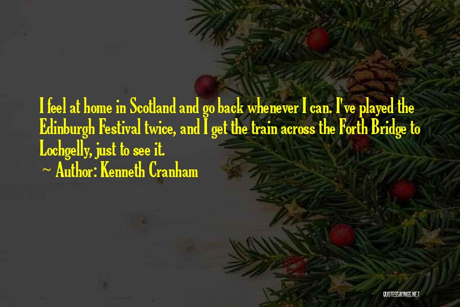 Going Back Home Soon Quotes By Kenneth Cranham