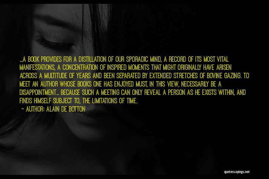 Going Bovine Quotes By Alain De Botton