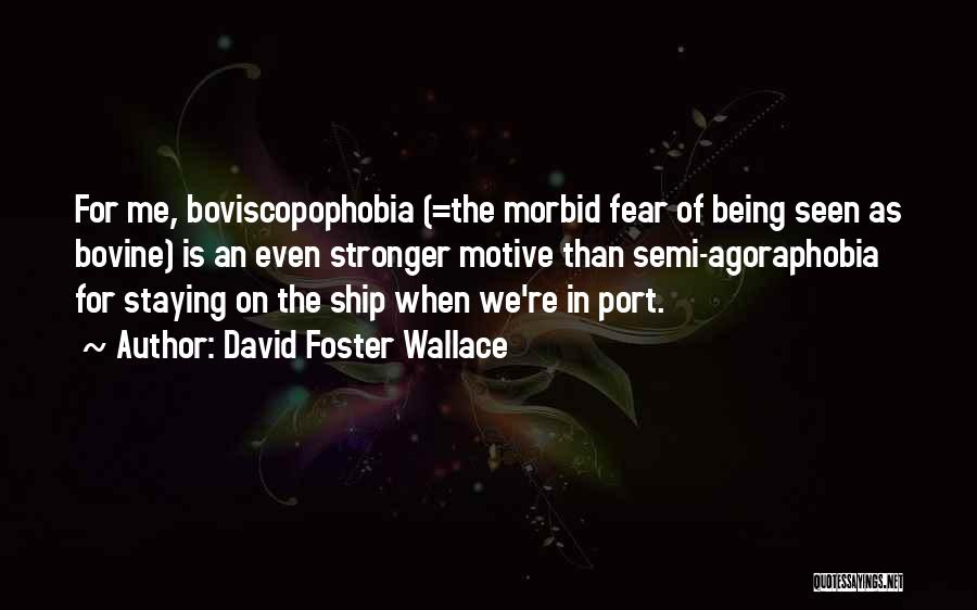 Going Bovine Quotes By David Foster Wallace