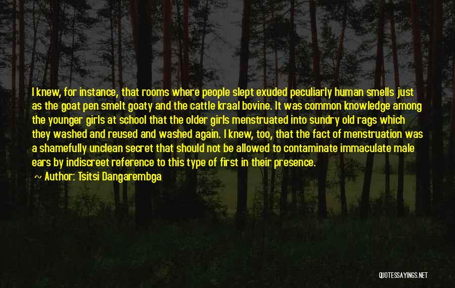 Going Bovine Quotes By Tsitsi Dangarembga