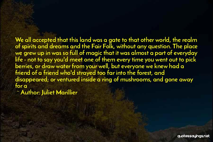 Going For Dreams Quotes By Juliet Marillier