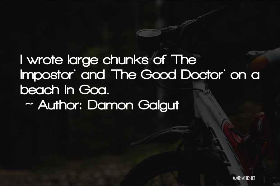 Going Goa Quotes By Damon Galgut