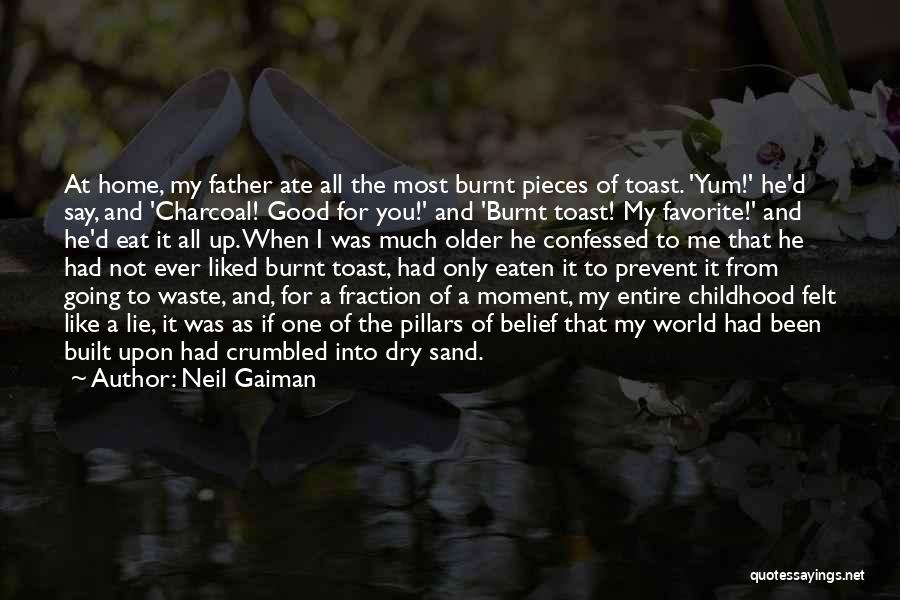 Going Home Family Quotes By Neil Gaiman