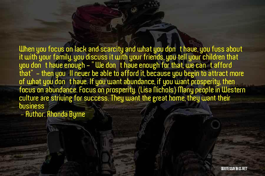 Going Home Family Quotes By Rhonda Byrne
