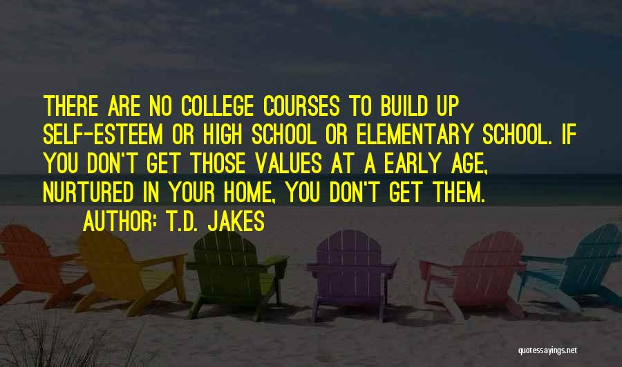 Going Home From College Quotes By T.D. Jakes