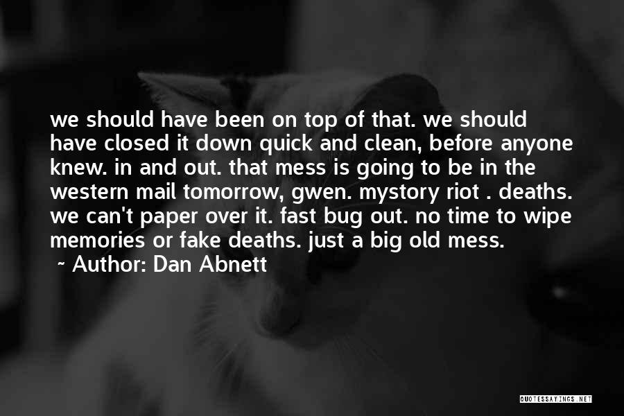 Going Over The Top Quotes By Dan Abnett