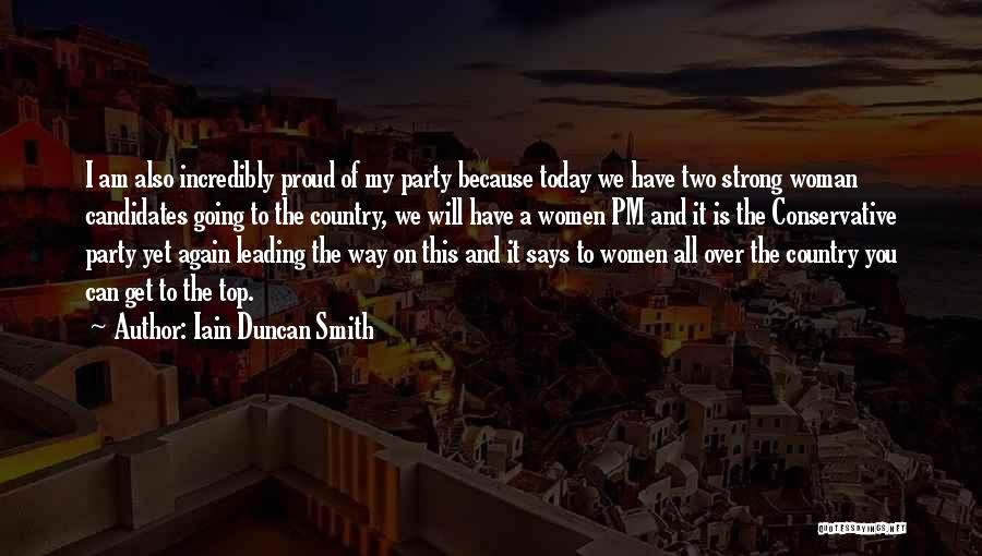Going Over The Top Quotes By Iain Duncan Smith